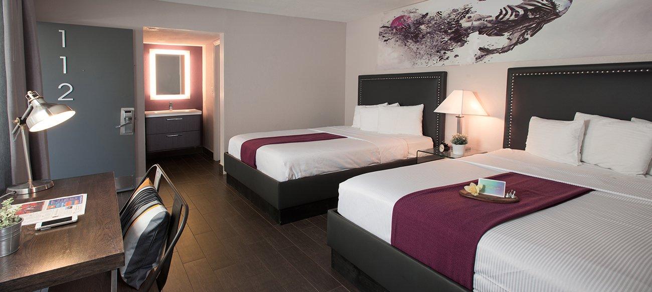 San Diego Hotel Room